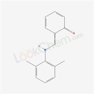 54220-52-9,6-[[(2,6-dimethylphenyl)amino]methylidene]cyclohexa-2,4-dien-1-one,