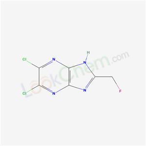 58885-16-8,3,4-dichloro-8-(fluoromethyl)-2,5,7,9-tetrazabicyclo[4.3.0]nona-2,4,7,10-tetraene,