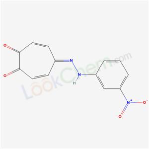 7021-47-8,4-[(3-nitrophenyl)hydrazinylidene]cyclohepta-2,5-diene-1,7-dione,