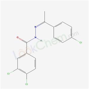 5374-39-0,3,4-dichloro-N-[1-(4-chlorophenyl)ethylideneamino]benzamide,