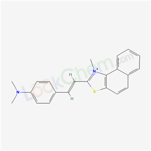 6285-35-4,2-(p-Dimethylaminostyryl)-1-methylnaphtho(1,2-D)thiazolium iodide,