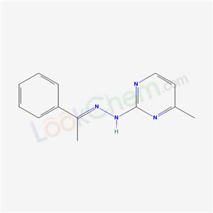 5482-19-9,4-methyl-N-(1-phenylethylideneamino)pyrimidin-2-amine,