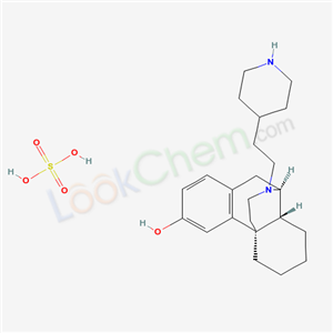 63868-28-0,(-)-17-(2-(4-Piperidyl)ethyl)morphinan-3-ol sulfate,