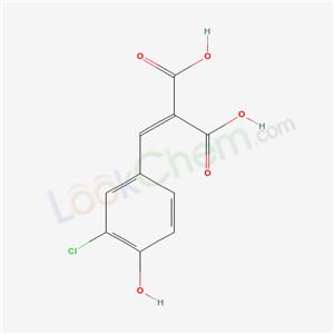 73747-73-6,MALONIC ACID, (3-CHLORO-4-HYDROXYBENZYLIDENE)-,
