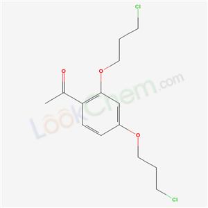 87048-85-9,1-[2,4-bis(3-chloropropoxy)phenyl]ethanone,