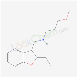 94326-36-0,2,3-Dihydro-2-ethyl-N-(3-methoxypropyl)-3-benzofuranmethylamine,