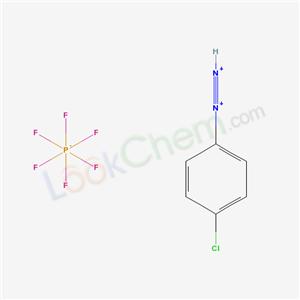 16921-85-0,Benzenediazonium, p-chloro-, hexafluorophosphate(1-),