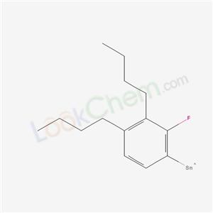 85938-48-3,(3,4-dibutyl-2-fluoro-phenyl)tin,