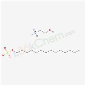 93859-02-0,(2-Hydroxyethyl)ammonium tetradecyl sulphate,(2-hydroxyethyl)ammonium tetradecyl sulphate