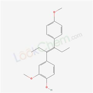 171118-25-5,2-methoxy-4-[(E)-4-(4-methoxyphenyl)hex-3-en-3-yl]phenol,
