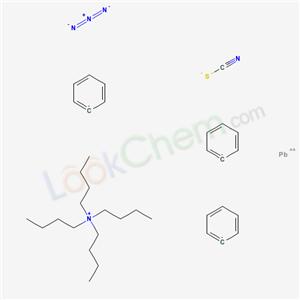 158882-72-5,N,N,N-Tributyl-1-butanaminium azidotriphenyl(thiocyanato-N)plumbate(1-),