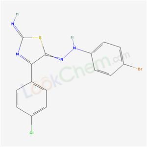 39874-97-0,4-bromo-N-[[4-(4-chlorophenyl)-2-imino-1,3-thiazol-5-ylidene]amino]aniline,