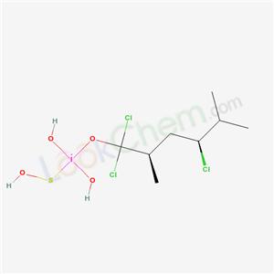 74398-69-9,Silane, trichloro(2,5-dimethylhexyl)-,