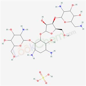 CAS NO:1263-89-4 ANTIBIOTIC 1600 Molecular Structure