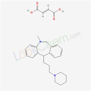 3311-53-3,5-METHYL-11-(3-PIPERIDINOPROPYL)-5,6-DIHYDROMORPHANTHRIDINEFUMARATE,