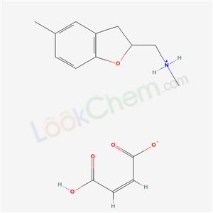 34336-46-4,2,3-Dihydro-N,5-dimethyl-2-benzofuranmethylamine maleate,