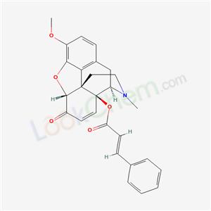 751-01-9,14-CINNAMOYLOXYCODEINONE,