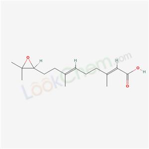 34375-62-7,9-(3,3-Dimethyloxiranyl)-3,7-dimethyl-2,6-nonadienoic acid,