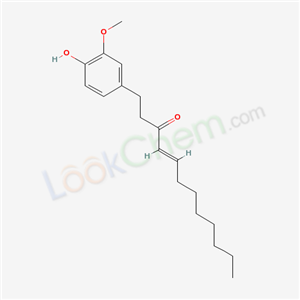 Molecular Structure of 36700-45-5 ((E)-1-(4-hydroxy-3-methoxy-phenyl)dodec-4-en-3-one)