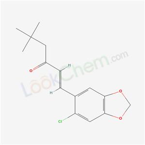 58344-75-5,(E)-1-(6-chlorobenzo[1,3]dioxol-5-yl)-5,5-dimethyl-hex-1-en-3-one,