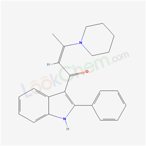 62367-95-7,(Z)-1-(2-phenyl-1H-indol-3-yl)-3-(1-piperidyl)but-2-en-1-one,
