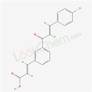 82885-69-6,(E,E)-3-(3-(3-(4-Chlorophenyl)-1-oxo-2-propenyl)phenyl)-2-propenoic acid,
