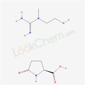 5-OXO-L-PROLINE WITH N-(2-HYDROXYETHYL)-N-METHYLGUANIDINE