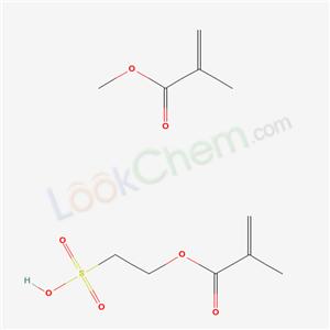 55031-97-5,2-Propenoic acid, 2-methyl-, methyl ester, polymer with 2-sulfoethyl 2-methyl-2-propenoate,