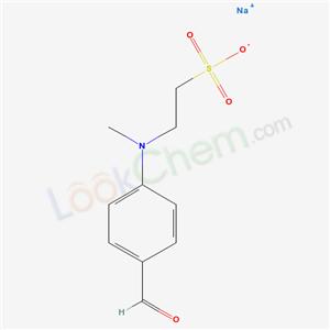 56405-41-5,Ethanesulfonic acid, 2-((4-formylphenyl)methylamino)-, sodium salt,