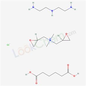 CAS NO:61840-27-5 Cartaretin F 4 Molecular Structure