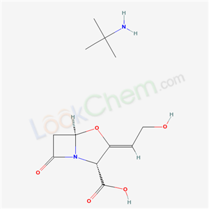 CAS NO:66069-34-9 (2R,3Z,5R)-3-(2-hydroxyethylidene)-7-oxo-4-oxa-1-azabicyclo[3.2.0]heptane-2-carboxylic acid; 2-methylpropan-2-amine