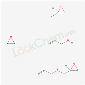68334-86-1,2-Propen-1-ol, polymer with methyloxirane, oxirane and ((2-propenyloxy)methyl)oxirane,