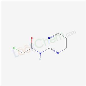 52687-97-5,2-chloro-N-pyrimidin-2-yl-acetamide,
