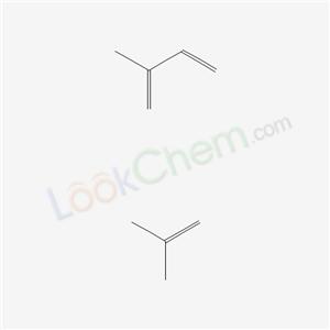 Molecular Structure of 68441-14-5 (1,3-Butadiene, 2-methyl-, polymer with 2-methyl-1-propene, brominated)