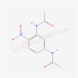 119-76-6,N-(5-acetamido-2-nitro-phenyl)acetamide,N,N'-(4-nitro-1,3-phenylene)bis(acetamide)