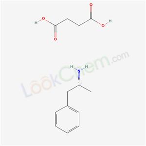 5634-40-2,(-)-alpha-Methylphenethylamine succinate (1:1),Levamfetamine succinate;L-AMPHETAMINESUCCINATE