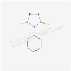 17471-00-0,1-phenyl-2H-tetrazole-5-thione,