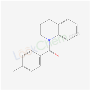 5343-64-6,3,4-dihydro-2H-quinolin-1-yl-(4-methylphenyl)methanone,