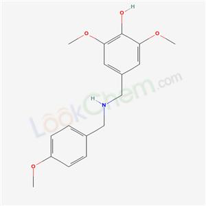 5937-84-8,2,6-dimethoxy-4-[[(4-methoxyphenyl)methylamino]methyl]phenol,