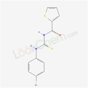 6351-24-2,N-[(4-bromophenyl)thiocarbamoyl]thiophene-2-carboxamide,