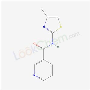 5142-52-9,N-(4-methyl-1,3-thiazol-2-yl)pyridine-3-carboxamide,