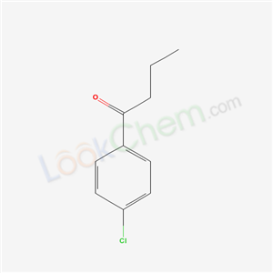 Molecular Structure of 4981-63-9 (4'-Chlorobutyrophenone)