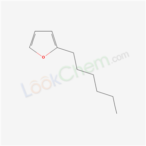 Molecular Structure of 3777-70-6 (2-Hexylfuran)