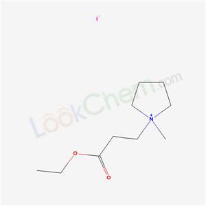 22041-32-3,1-(2-Carboxyethyl)-1-methylpyrrolidinium iodide ethyl ester,