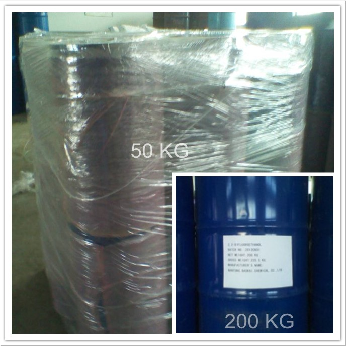50kg/drum or 200 Kg/Drum for 2,2-Difluoroethanol