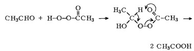 Production of Acetic Acid by Oxidation of Acetaldehyde - Chempedia ...