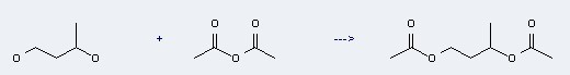 1,3-Butanediol,1,3-diacetate can be prepared by Acetic acid anhydride and Butane-1,3-diol.