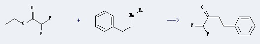 Use of Ethyl difluoroacetate
