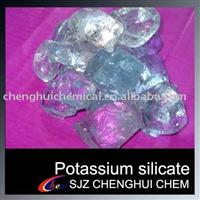 Potassium silicate for welding rod