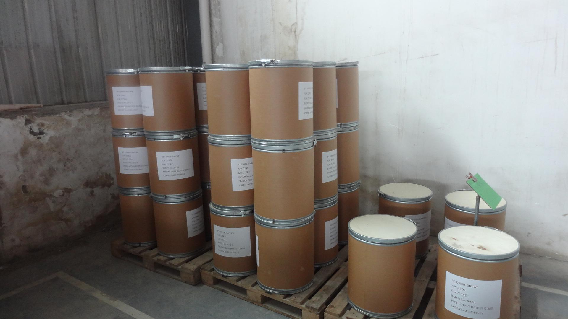 Insecticide 32000IU/MG WP bacillus thuringiensis
